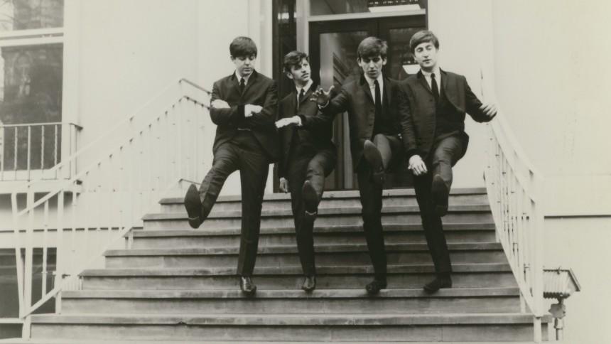 Sjælden The Beatles-vinyl sat til salg