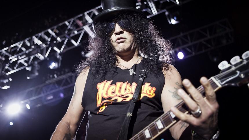 Slash: Musikbranchen er røget endnu længere ned i lokummet