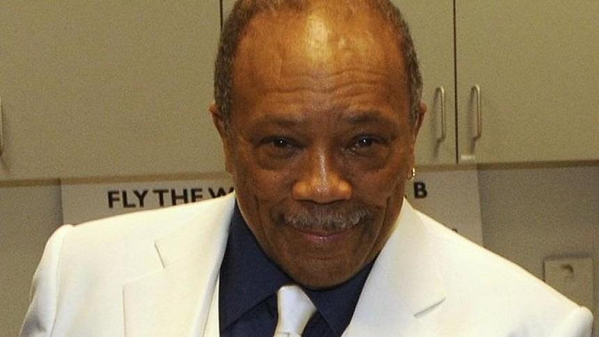 Quincy Jones fylder 80