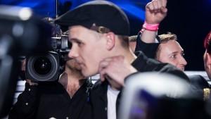 X Factor-finale Jyske Bank Boxen 220313