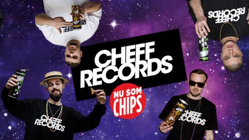 Cheff Records klar med chips-video