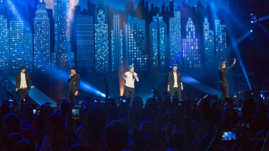 One Direction på det jævne i Jyske Bank Boxen