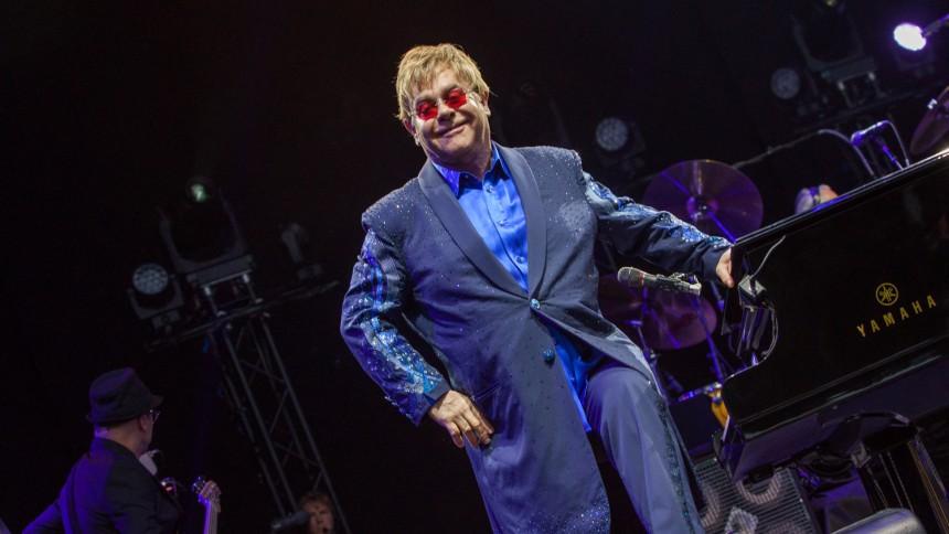 Elton John: Resenlund Parken, Skive