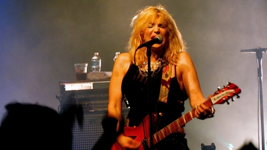 Courtney Love: The Commedore Ball Room, Vancouver