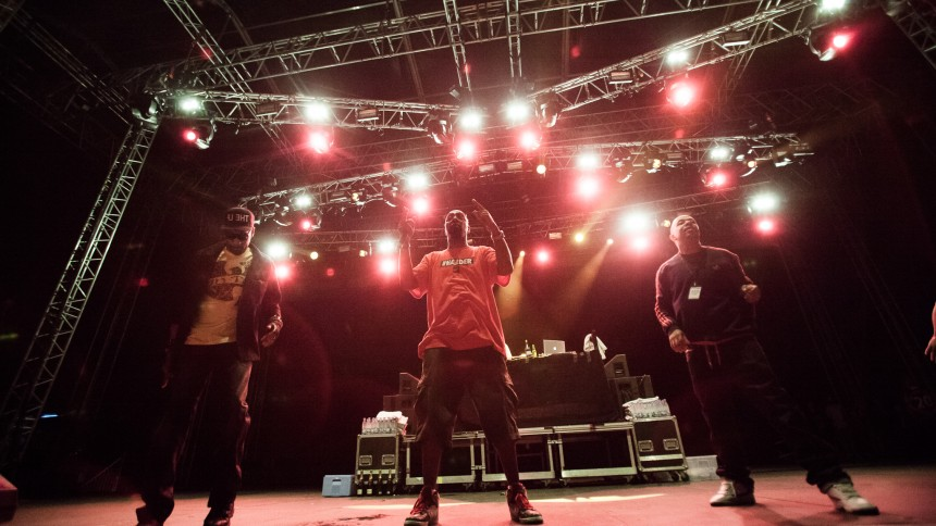 Wu-Tang Clan : Sun Ra Stage, Vanguard Music Festival