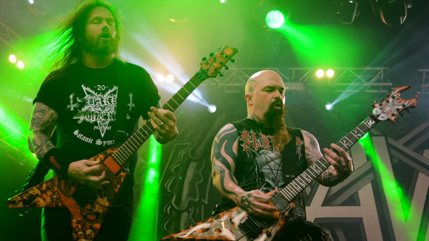 Slayer smider ny sang på gaden – lyt her