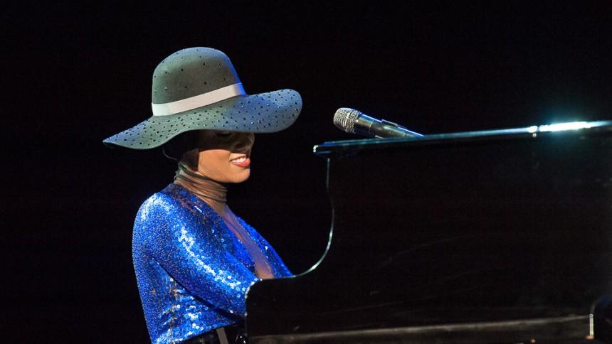 GRAMMY: Alicia Keys spiller sange, hun ville ønske, hun selv havde skrevet