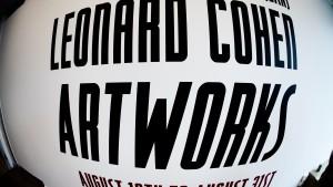 Leonard Cohen - Artworks - Poulsen Galleri