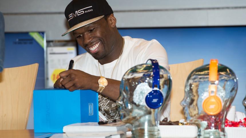 Interview og fotoserie: 50 Cent besøgte København