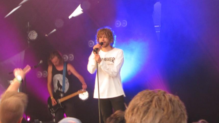 Reptile Youth: Teltscenen, Wonderfestiwall, Bornholm