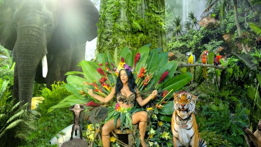 Katy Perry-video kritiseres af dyrevenner
