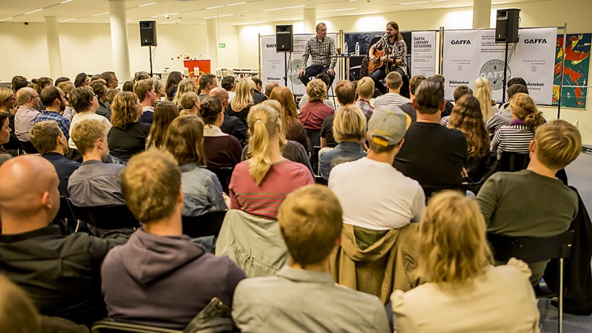 Tim Christensen indtog GAFFA Library Sessions