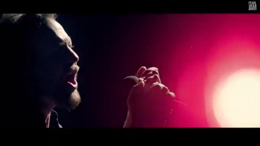 Se ny video fra Pearl Jam