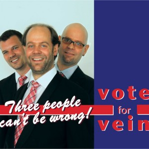 Vein: Three People Can't Be Wrong! Vote for Vein