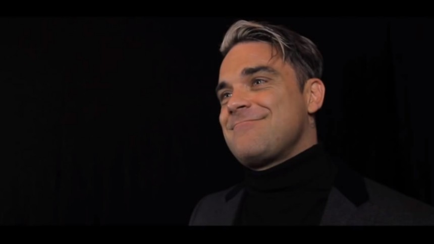 Robbie Williams optræder med The Muppets