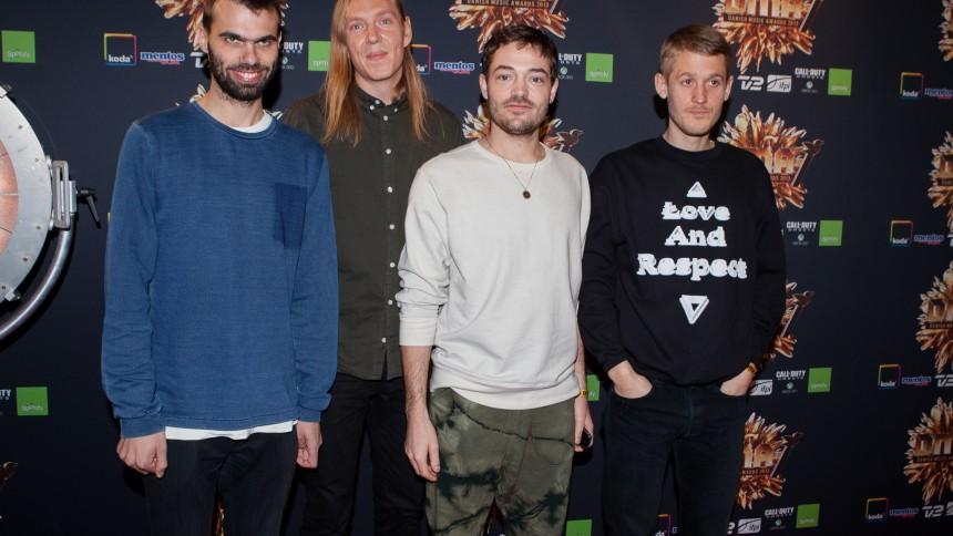 Se stjernerne på den røde løber til Danish Music Awards