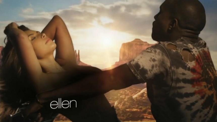 Se ny halvfræk video fra Kanye West