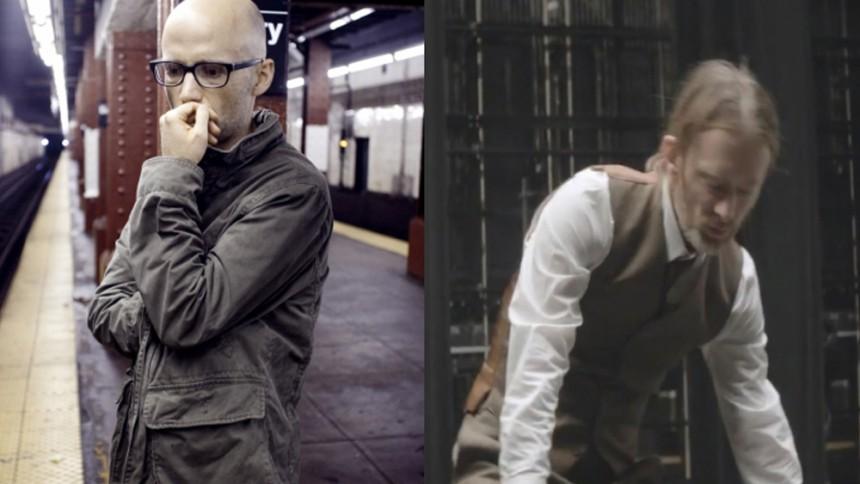 Moby og Thom Yorke i Spotify-clash