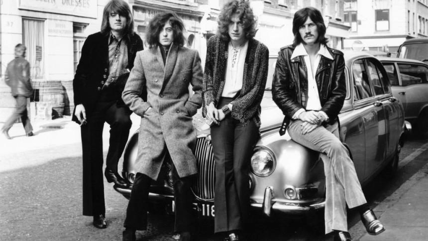 Hør Led Zeppelins 10 bedste sange