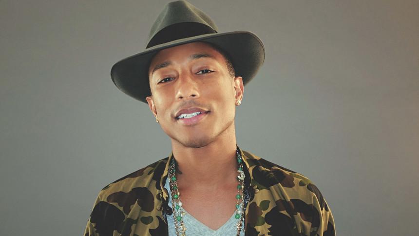 Pharrell Williams spreder glæde til FN-dag