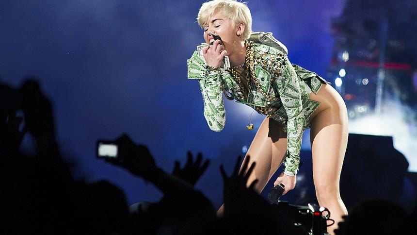 Miley Cyrus planlægger nøgenkoncert