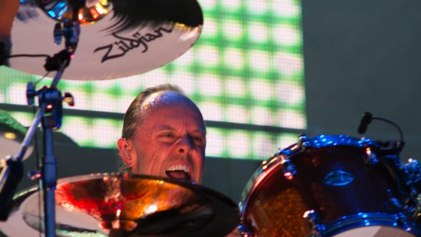 Lars Ulrich giver dansk intimkoncert med sin far