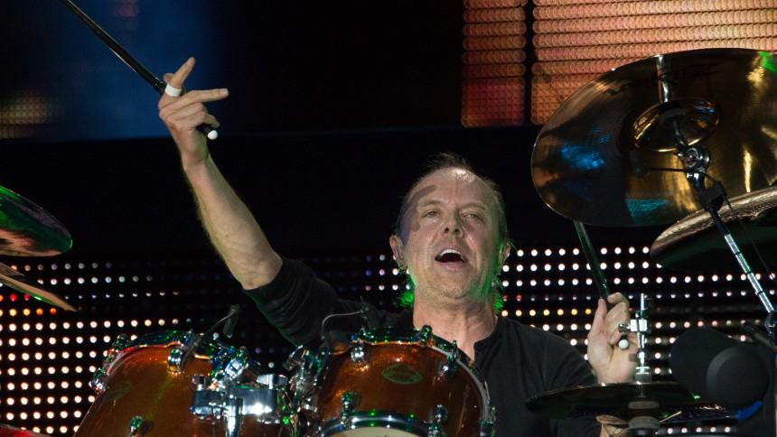 Lars Ulrich byder Apple Music velkommen