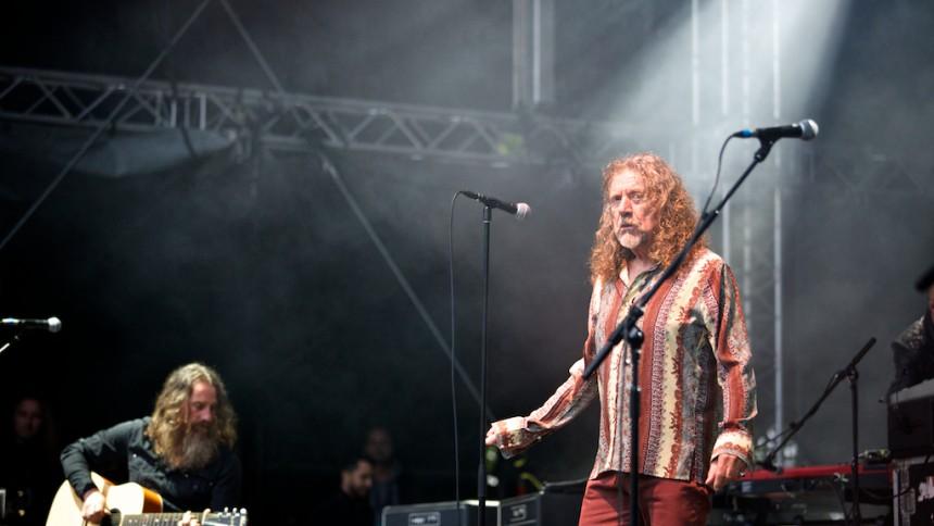 Robert Plant aflyser dansk koncert