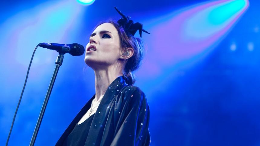 Nina Persson : NorthSide, P6 Beat-scenen