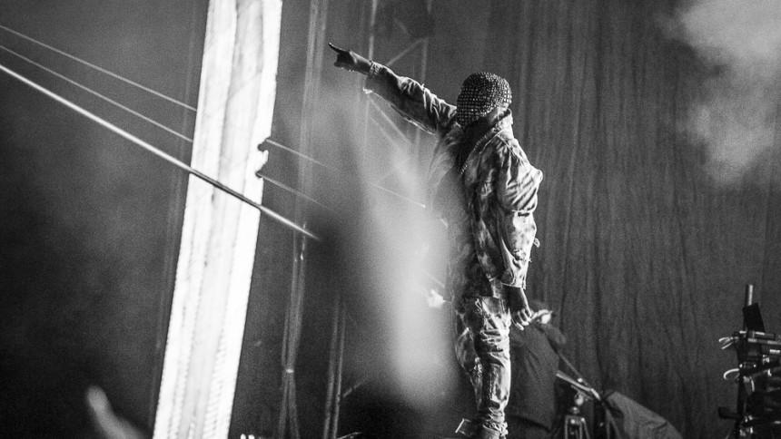 Glastonbury modtager dødstrusler på grund af Kanye West