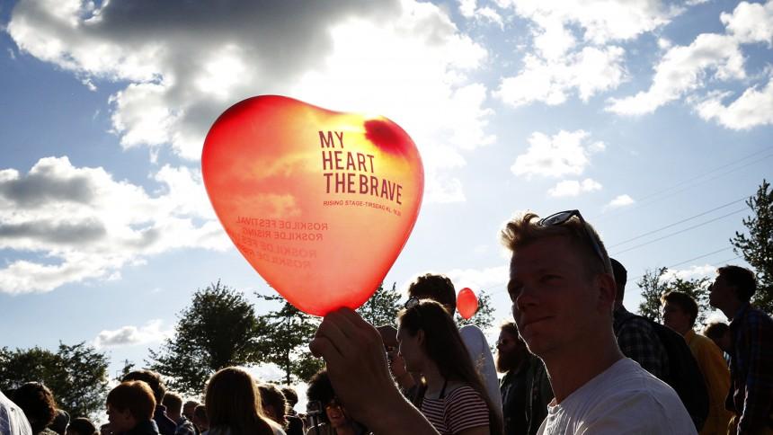 My Heart the Brave : Roskilde Festival, Rising