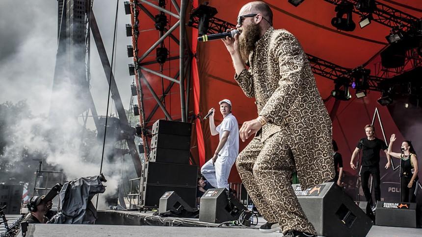 Klumben & Raske Penge: Roskilde Festival, Orange Scene