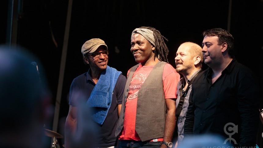 Manu Katché/Richard Bona/Eric Legnini/Steffano di Battista: Copenhagen Jazz Festival, Kulturhuset Is