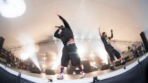 Method Man & Redman Sun Ra Stage Vanguard Festival 020814