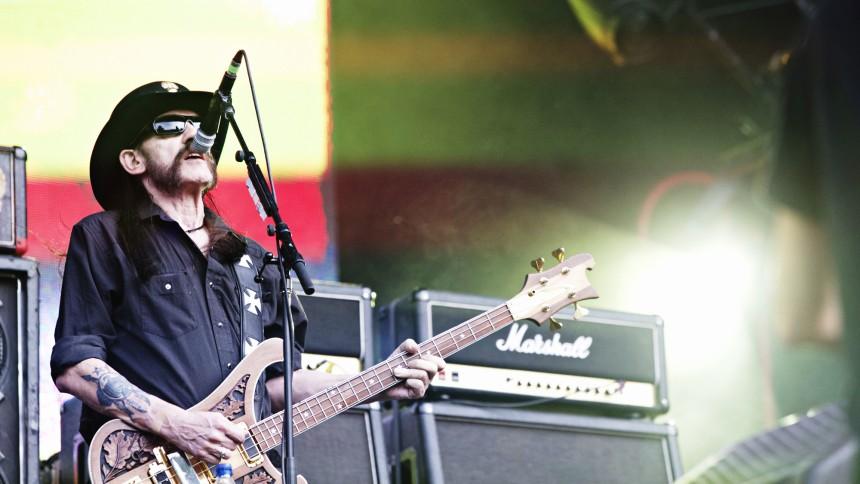 Lemmy har skiftet fra whisky til vodka for sundhedens skyld