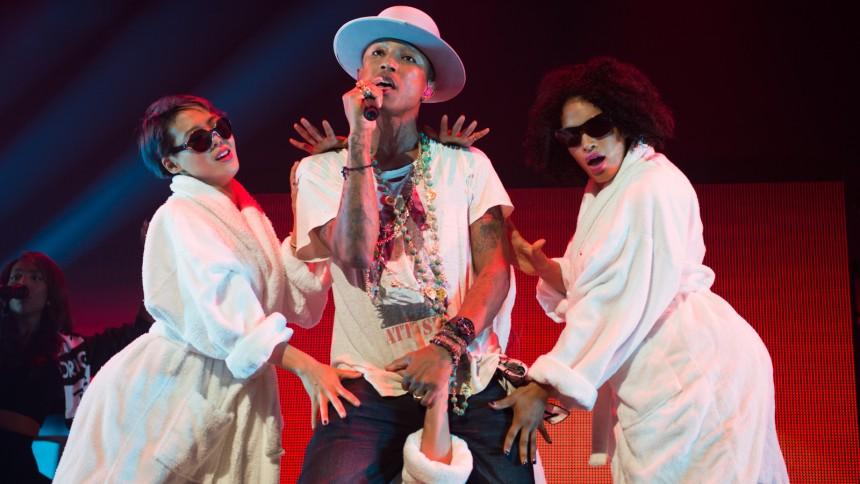 Pharrell: Roskilde er amazing