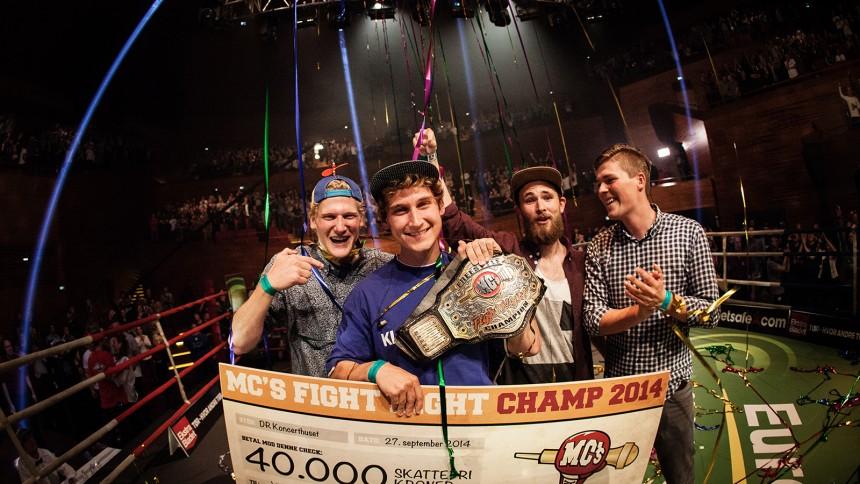 Stor fotoserie: MC's Fight Night – og vinderen er...