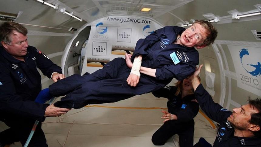 Stephen Hawking gæster Glastonbury Festival