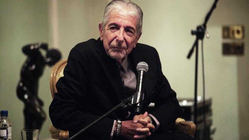 Da GAFFA mødte Cohen i 2014: Populære Problemer  – i audiens hos Leonard Cohen