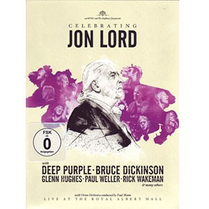 Various artists: Celebrating Jon Lord - Live at The Royal Albert Hall, 2 dvd