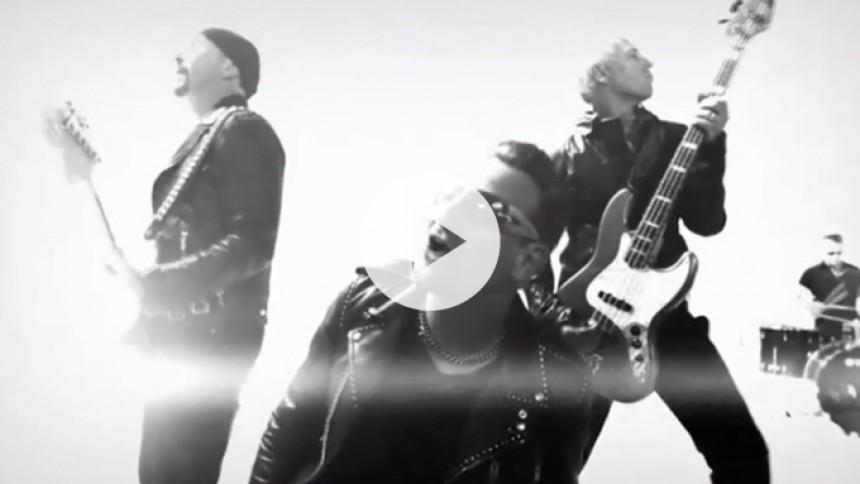 U2 undskylder og udgiver ny musikvideo