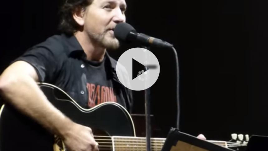 Hør nyt Pearl Jam-nummer