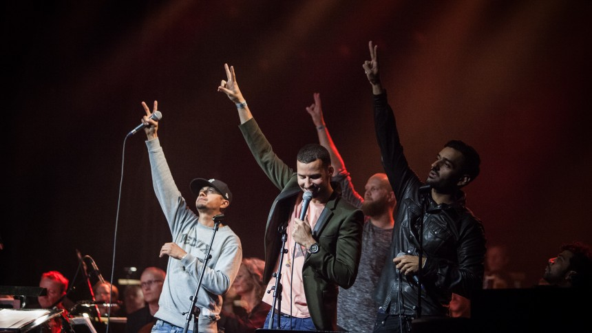 Hip Hop For Peace støtter syriske flygtninge i Brorsons Kirken