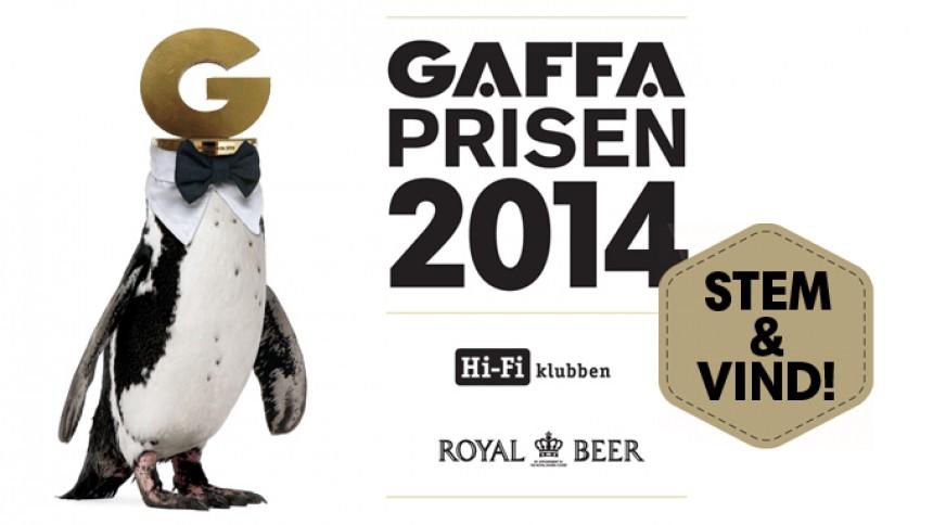 Stem til GAFFA-Prisen 2014