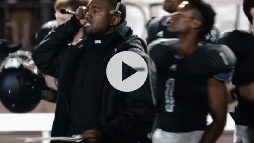 Se Kanye West som Big Seans fodboldtræner