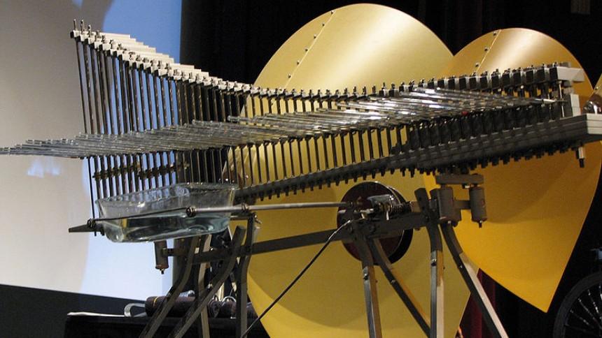 Mike Sherdian giver koncerter på meget sjældent instrument