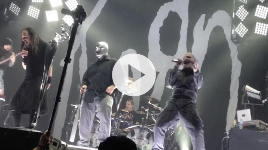 Se Korn og Slipknot hylde Beastie Boys