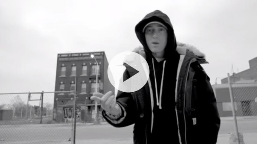 Video: Se Eminem og vennerne på hjemmebane i Detroit