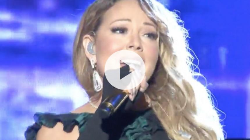 Video: Mariah Carey er ikke ligefrem the great pretender