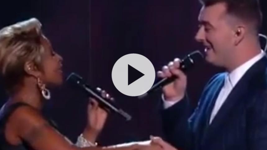 Video: Se Sam Smith i duet med Mary J. Blige